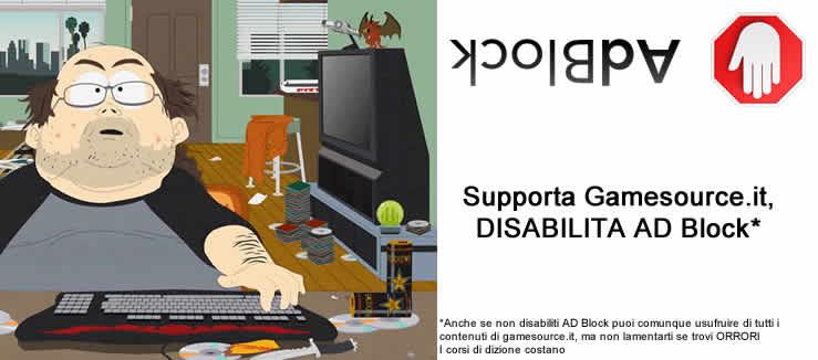 Gioca a videogiochi responsabilemente non adbloccare