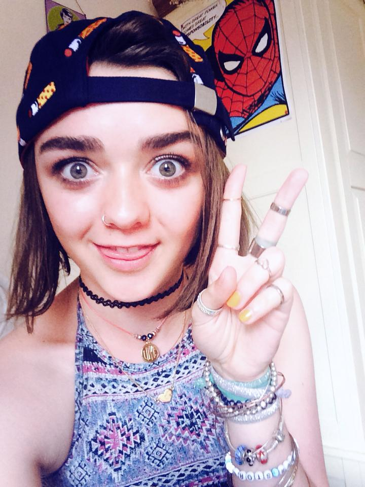 maisie williams the last of us