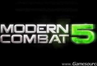 Modern Combat 5: Blackout, arriverà anche su PC e Windows Phone