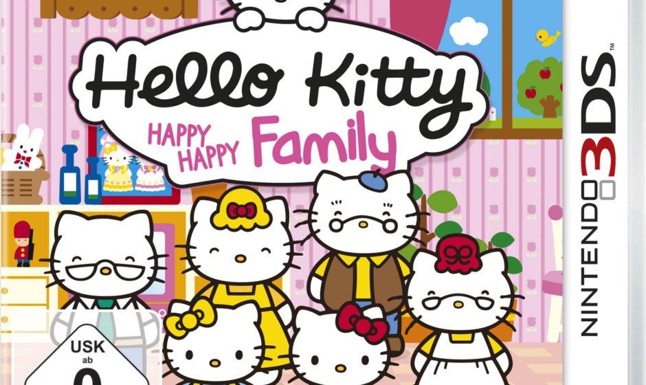 Hello Kitty Happy Happy Family, il trailer ufficiale