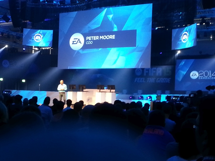 ea conferenza gamescom 2014