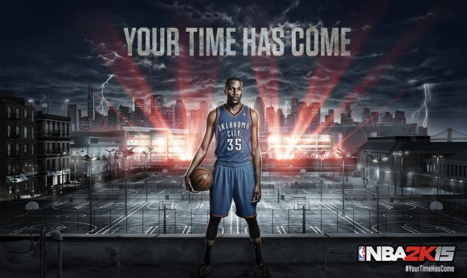 NBA 2K15, video first look con Kevin Durant