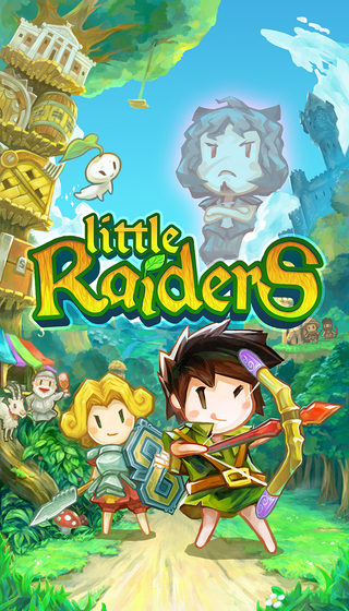Little Raiders, disponibile da oggi su App Store