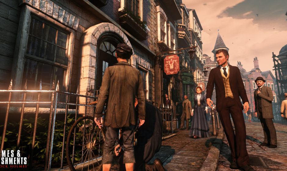 Sherlock Holmes Crimes & Punishments - Hands On