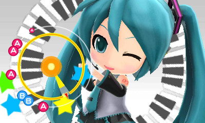 Video gameplay da Hatsune Miku: Project Mirai DX per 3DS