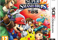 Super Smash Bros 3DS Cover