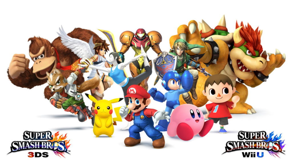 Super Smash Bros 3ds demo