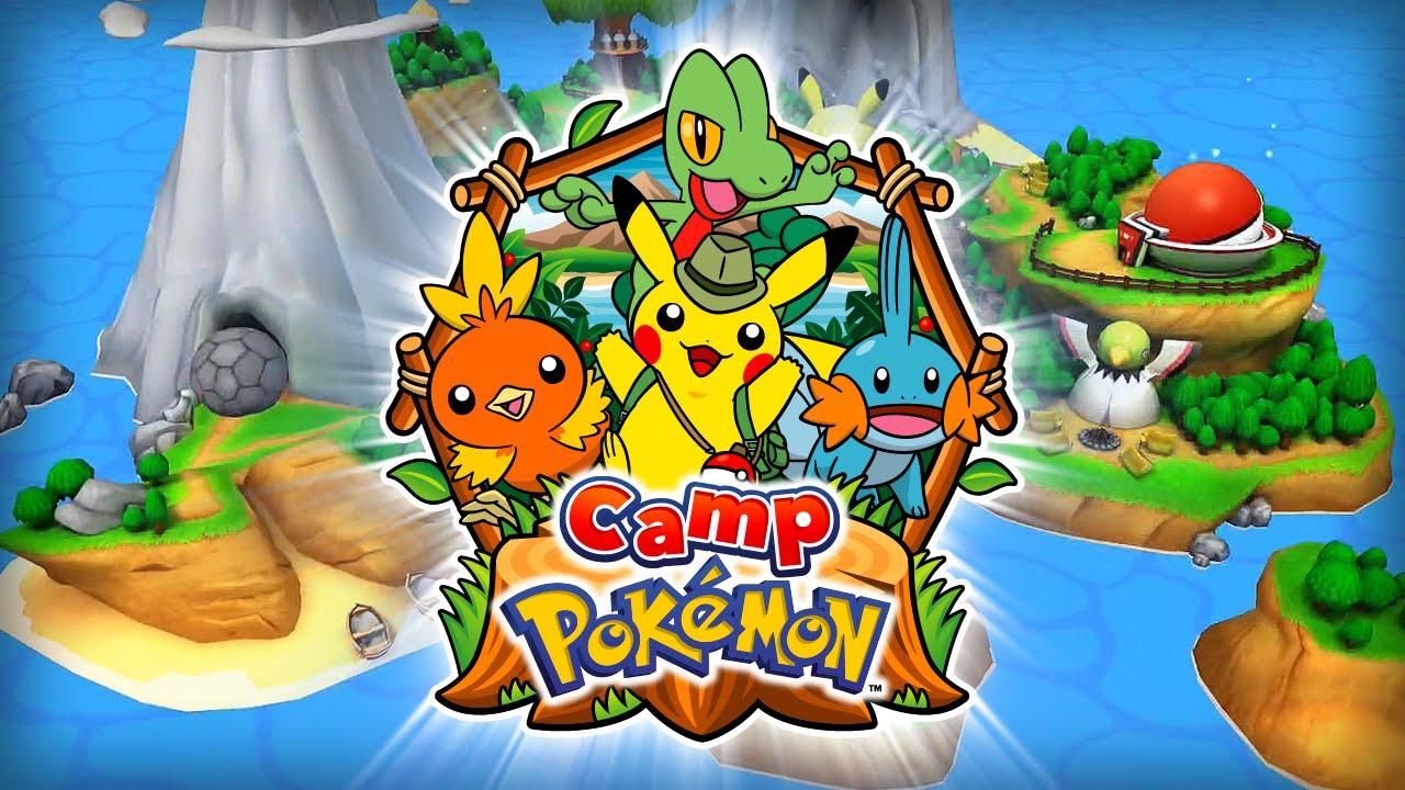 Camping Pokémon