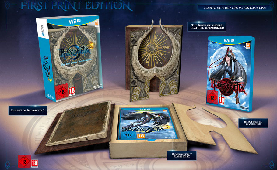 Unboxing: Bayonetta 2 First Print Edition