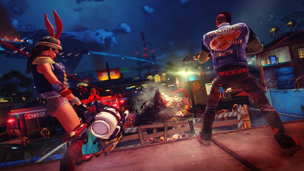 Sunset Overdrive messaggio