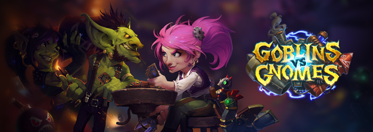 Hearthstone Goblin vs Gnomi disponibile