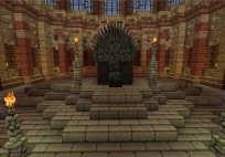 Minecraft Iron Throne
