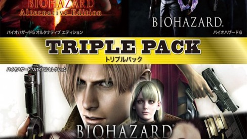 In arrivo Resident Evil Triple Pack in Giappone