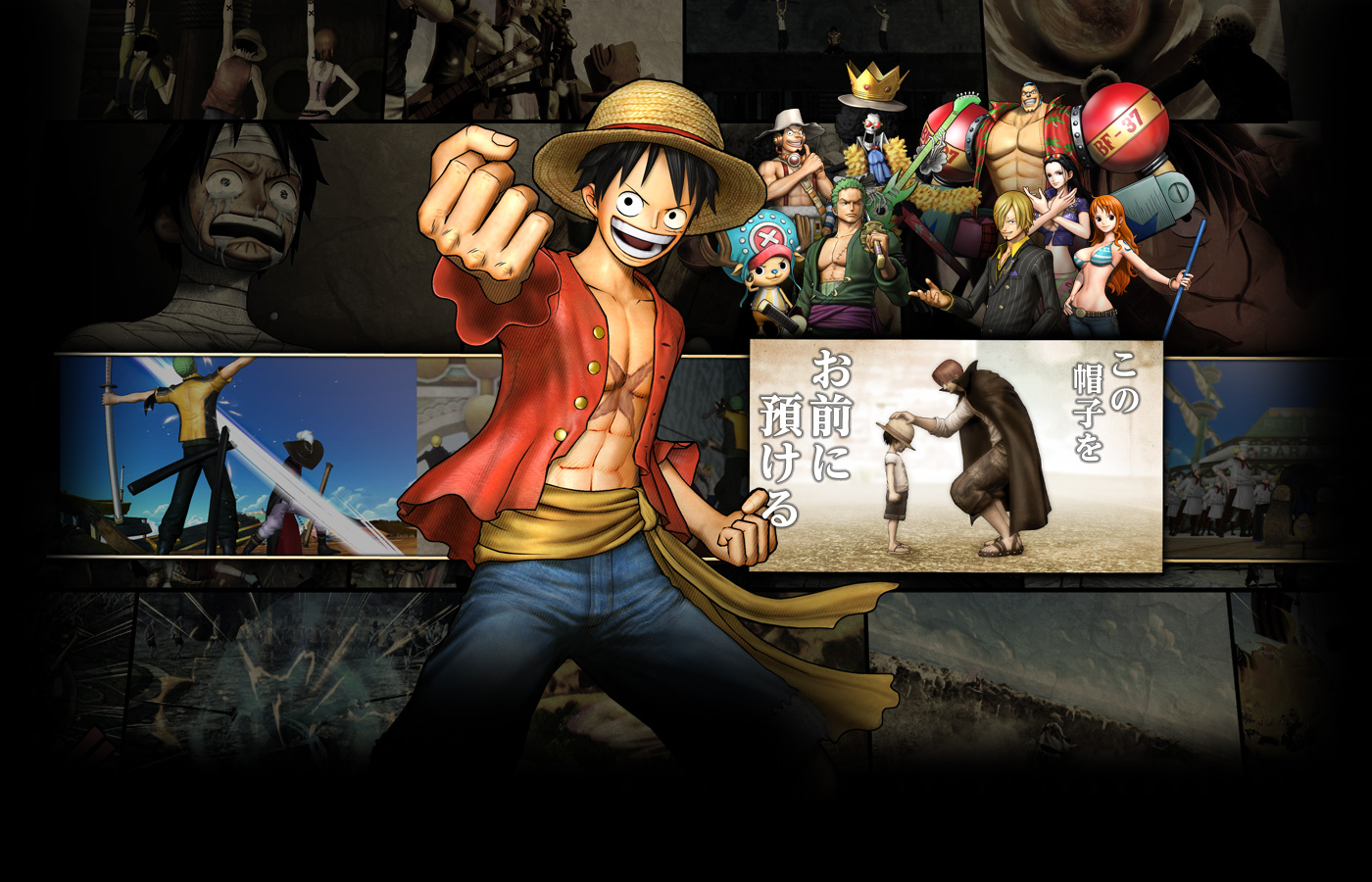 nuovo trailer one piece pirate warriors 3 gamesource. Black Bedroom Furniture Sets. Home Design Ideas