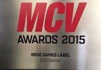 MCV Awards 2015 Indie Games Label 505 Games