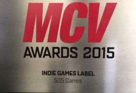 505 GAMES ha vinto il premio come Best Indie Games Label agli MCV Awards 2015!