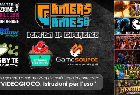 Gamers & Games: Beat'Em Up Experience, Pordenone 25 e 26 aprile
