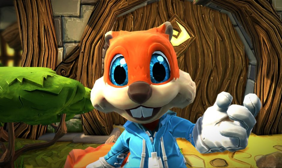 Project Spark: ecco i primi 10 minuti di Conker's Bad Fur Day