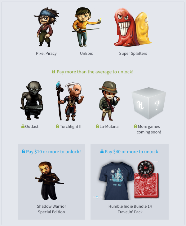 humble indie bundle 14 bis