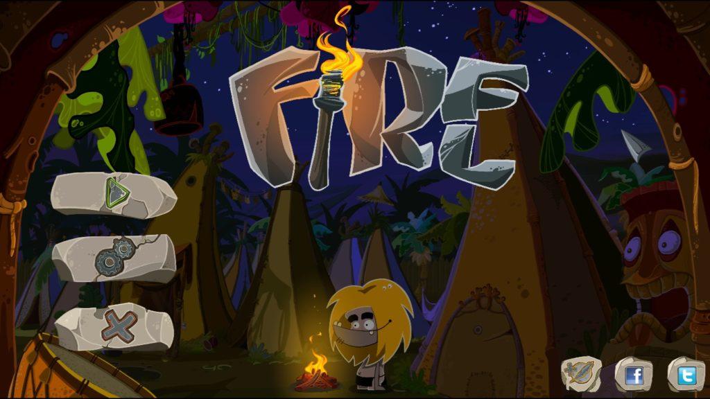 Fire menu iniziale