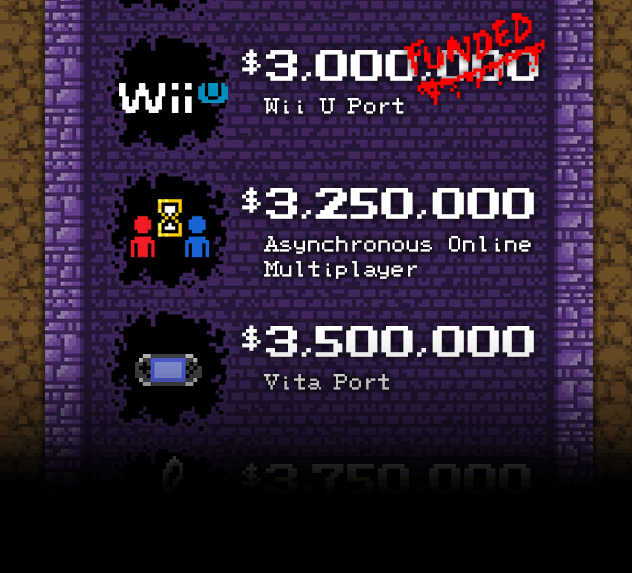 Bloodstained next stretch goals