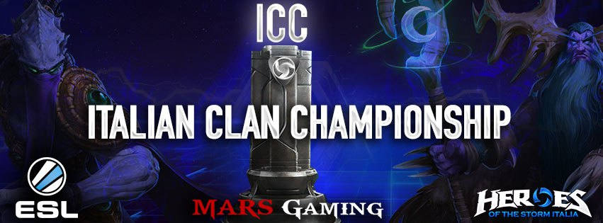Heroes of the Storm 1° Torneo ICC al via