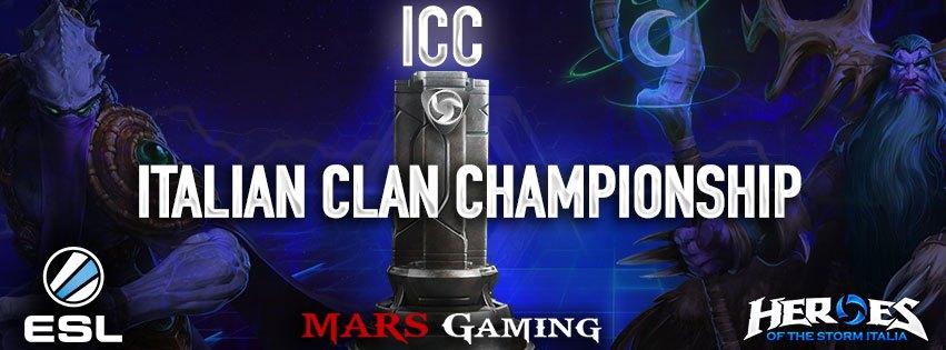 Heroes of the Storm 1° Torneo ICC al via