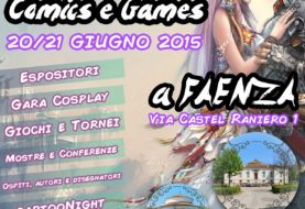 Gamesource al Villa Rotonda Comics & Games, 20-21 giugno 2015