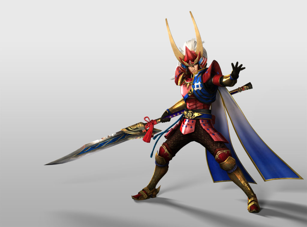 Samurai Warriors 4 II Naomasa Ii - Pose 01