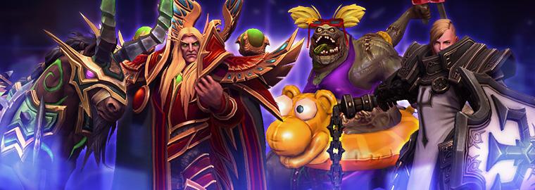 heroes of the storm nuovi eroi e modelli