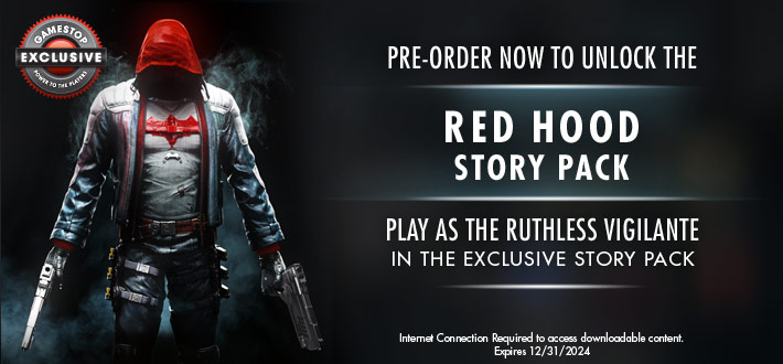 Batman Arkham Knight Red Hood
