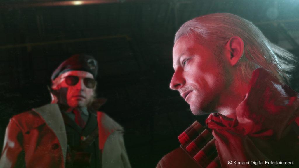 Metal Gear Solid V cutscene segreta