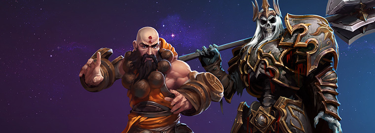 monaco e king leoric in arrivo su heroes of the storm