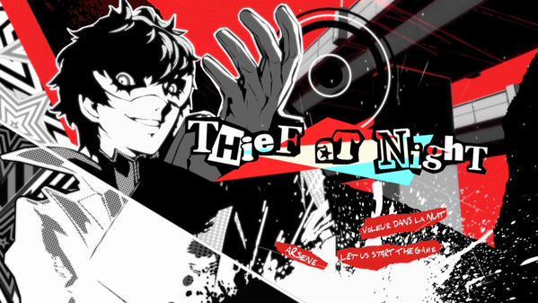 Persona 5 trailer sport