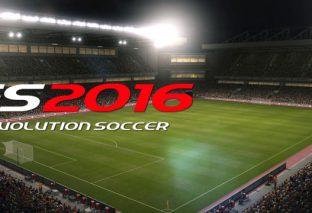 PES 2016: svelata la data d'uscita e il primo video gameplay