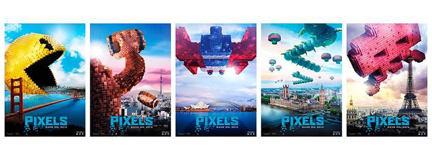 Pixels al cinema dal 25 Luglio