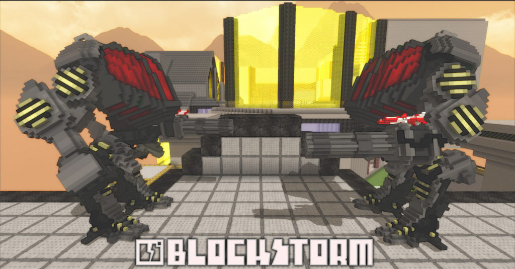 Blockstorm feature mecha