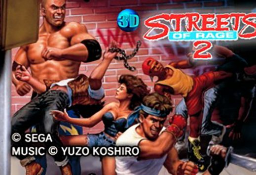 3D Streets of Rage II da oggi disponibile