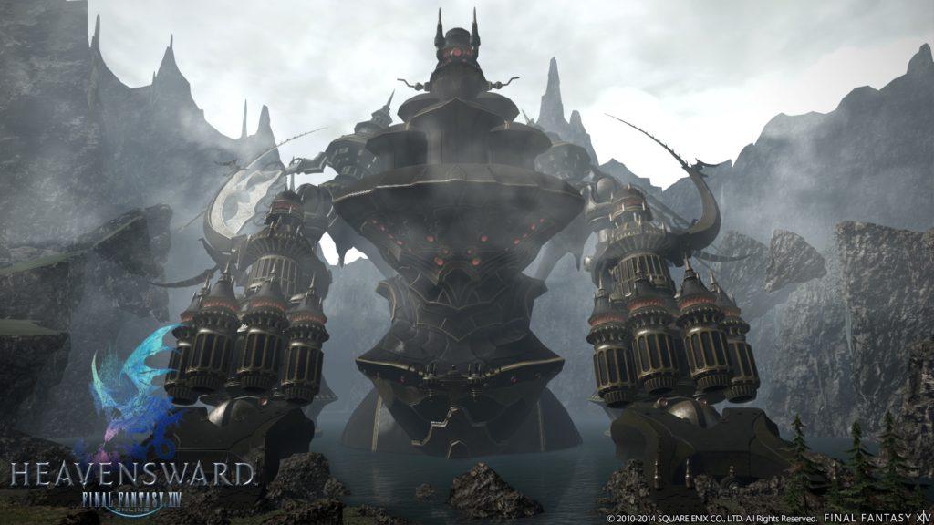 Final Fantasy XIV Heavensward Alexander