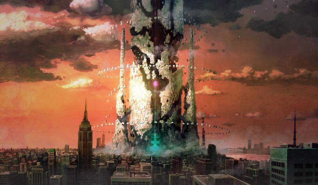 Lost Dimension pillar
