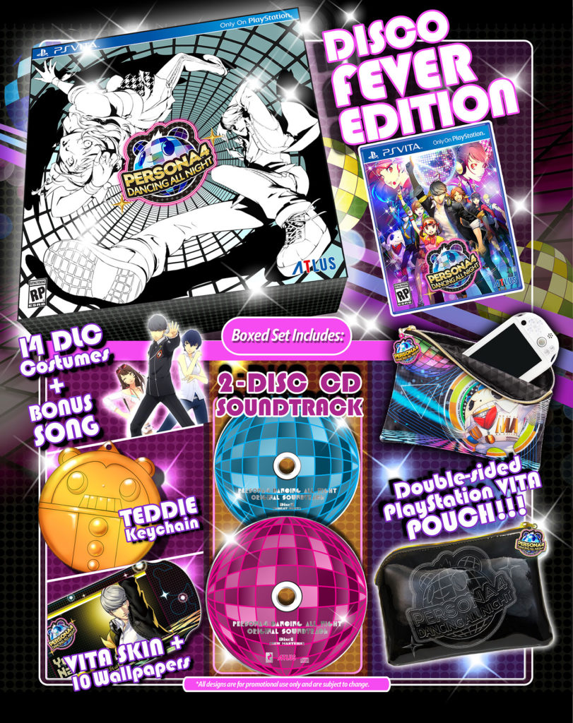 Persona 4 Dancing All Night Disco Fever
