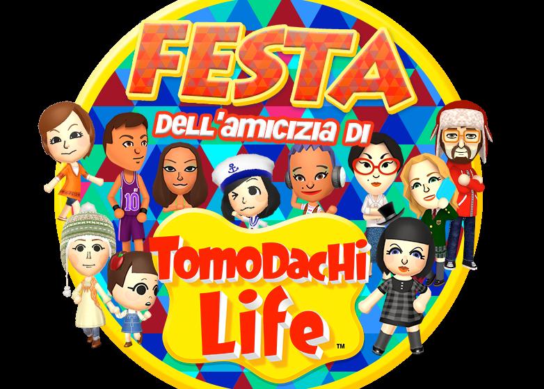 Arriva la festa dell'amicizia di Tomodachi Life!