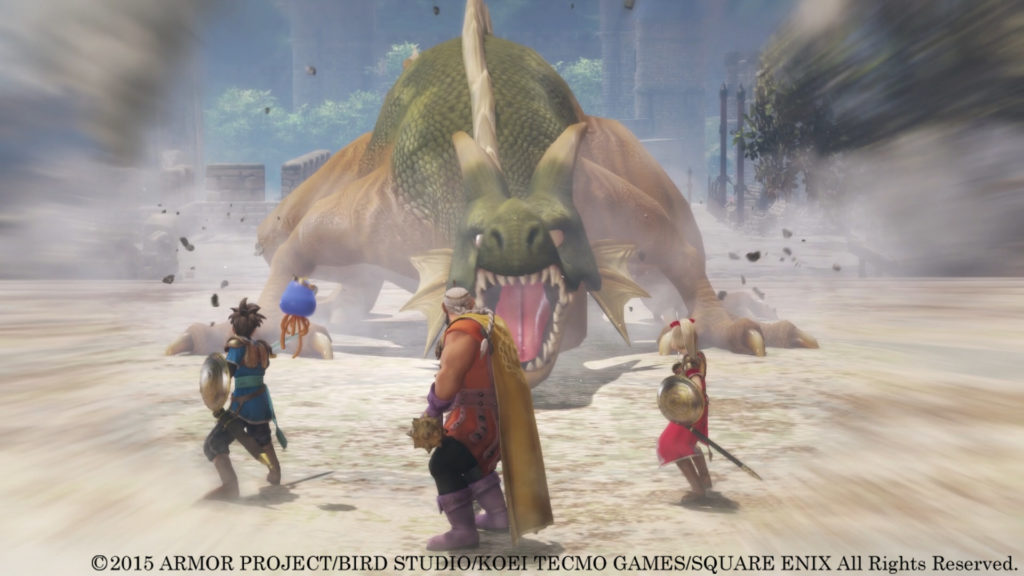 Dragon Quest Heroes Hands On