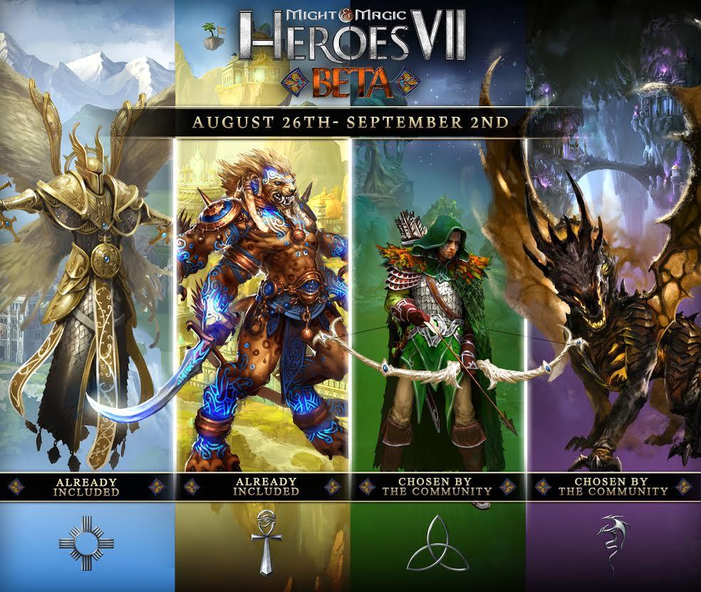 Might Magic Heroes VII Beta