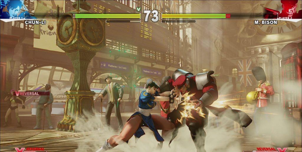 Street Fighter V Chun-li Reversal