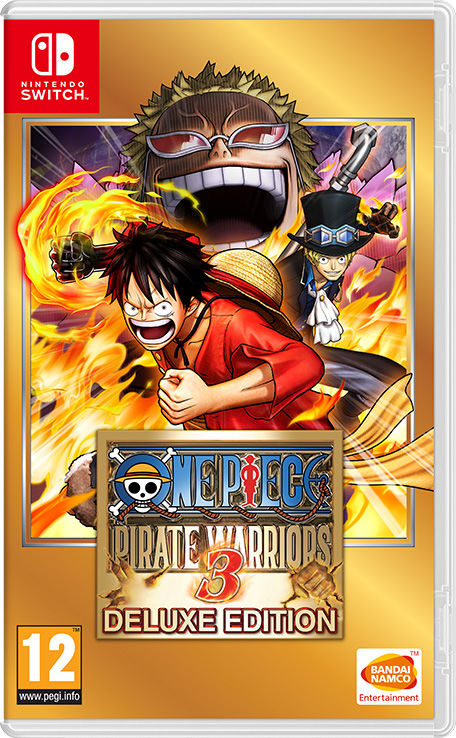 Cover One Piece: Pirate Warriors 3 Deluxe Edition