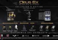 uscita di Deus Ex Mankind Divided Collector's Edition
