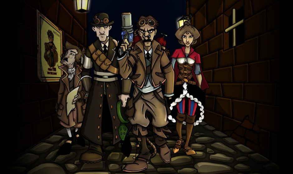 The Steampunk League in crowdfunding