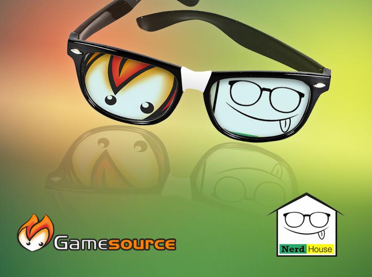 Gamesource meets Nerdhouse: la nuova collaborazione