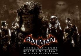 Annunciati tutti i DLC di Batman: Arkham Knight